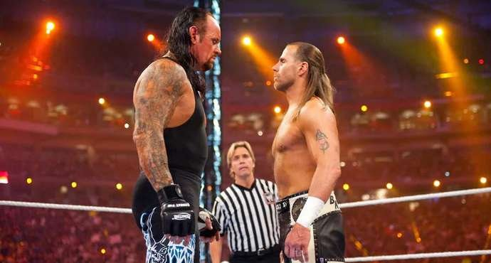 Undertaker names Michaels as the G.O.A.T