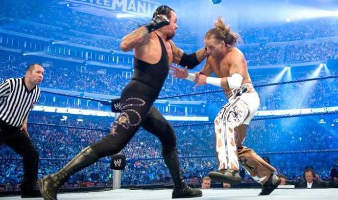 Undertaker and HBK clashed at WrestleMania 25