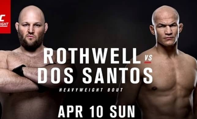UFC Fight Night 86: dos Santos vs. Rothwell Event Page and